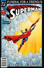 SUPERMAN  NO.77 FUNERAL FOR A FRIEND/8 THE END NO.10; MARCH 1993,MINT CONDITION!