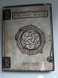 Dungeons and Dragons - Forgotten Realms Campaign Setting - 3rd Edition