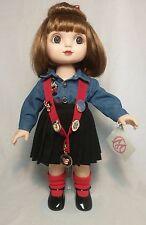 Marie Osmond Adora Belle Disney Store Pin Trader Doll Blue Blouse Black Skirt