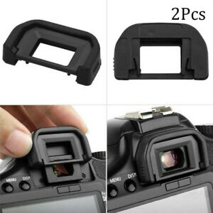 2x Viewfinder Eyepiece Eyecup Glasses Protect Cover For Canon EOS 600D 500D Etc