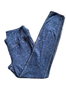 Athleta Leggings Size XLT Gray Yoga Pants Full Length