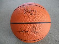 SPALDING  DREAM TEAM BASKETBALL WITH PRINTED OUT PLAYERS AUTOGRAPHS ON IT RARE!