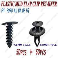 100pcs For Ford Falcon BA BF FG Inner Guard Clip Retainer Fastener Clip