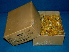 """Vintage/New : 20 Gross Box : 1/2"""" PEARL dome 2 HOLE BUTTONS @ Frank Parizek NOS"""