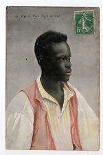 AFRIQUE DU NORD scenes et types ALGERIE une type négre du sud