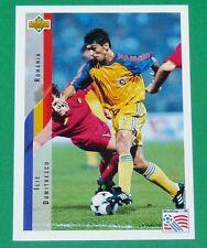 RARE FOOTBALL CARD UPPER DECK 1994 USA 94 ILIE DUMITRESCU ROUMANIE ROMANIA
