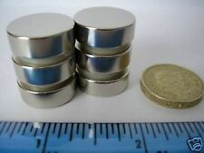"""2 of 3/4"""" x 1/4"""" Neodymium Disc Magnets Strong Rare Earth circle magnet magnetic"""