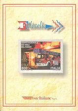 """02 Folder filatelico """" VIGILI DEL FUOCO """" 1999"""