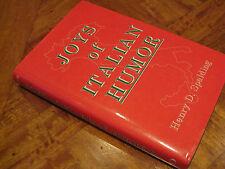 Joys of ITALIAN HUMOR  Henry D. Spalding Collection JOKES Stories Proverbs Quips