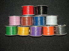 10M Equipment Wire Cable 16/0.2mm Stranded 3A 1KV 12 Colours Earth Cut length
