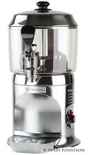 Commercial Drinking Chocolate Machine Hot Beverage Shot Dispenser - Silver - 5L