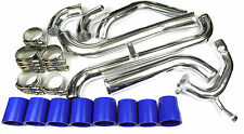 STARLET GLANZA GT TURBO EP-91 HARD INTERCOOLER PIPE KIT T-CLAMPS SILICONE