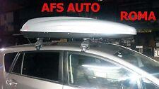 BOX AUTO PORTAPACCHI G3 KRONO 480 LT+BARRE TOYOTA VERSO ANNO 2013 OMOLOGATO