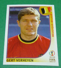 N°563 VERHEYEN BELGIQUE BELGIË PANINI FOOTBALL JAPAN KOREA 2002 COUPE MONDE FIFA