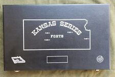 Colt Kansas series forts frontier scout factory wood display carry case