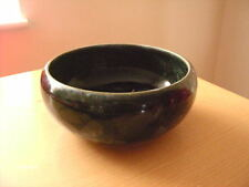 Royal Doulton Green/Blue? Pottery Bowl. Early 20th Century Ceramics