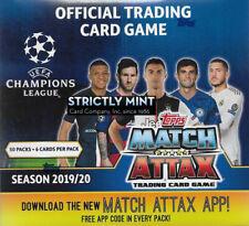 Match Attax Tin 2019//2020 totalmente nuevo y sellado de 45 Tarjetas Topps