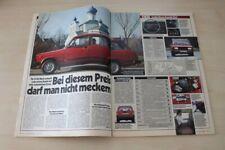 Auto Bild 11042) Lada Nova Kombi 2104 GLS mit 75PS im TEST auf 2 Seiten