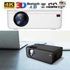 17000LM 1080P HD 4K 3D LCD LED VIDEO PROJECTOR AV/VGA/USB/HDMI Input Projector