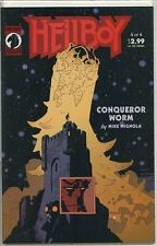Hellboy Conqueror Worm 2001 series # 4 near mint comic book