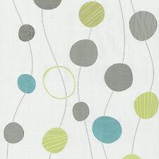 Vliestapete Design Kreise creme silber P+S International Novara 2 13465-30 (2,32