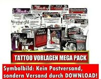 DOWNLOAD GEIL TÄTOWIERUNGSVORLAGEN MEGA PACK TÄTOWIERUNG VORLAGEN TATTOO eBOOK