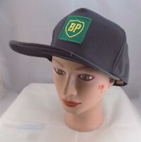 BP BRITISH PETROLEUM STITCHED GRAY SNAPBACK BASEBALL HAT CAP PRE-OWNED ST42