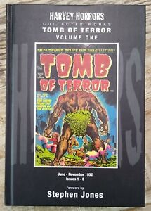 Harvey Horrors Collected Works Tomb of Terror Vol.1 full color HC PS Artbooks