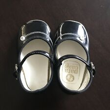 Vintage 60's Patent Leather Mary Jane Baby Shoes by Pata Cake •Size1•