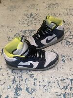NIKE DUNK HI SB 'BLACK BASE GREY' SZ 11 305050-017 2013