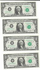 $1 1974 Group of 4 Federal Reserve STAR Notes Richmond FRN * Crisp Uncirc *