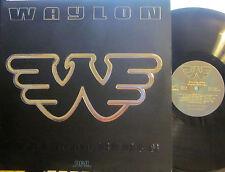 Waylon Jennings - Black on Black  (RCA AHL1-4247) (embossed cover) Willie Nelson