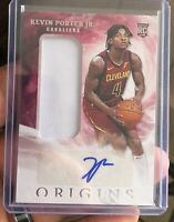 2019-20 Kevin Porter Jr. Panini Origins Rookie Patch Auto RPA RC Cavs/Rockets