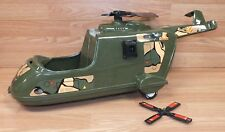 *For Parts* Genuine Vintage American Plastic Toys inc. Army Style Helicopter
