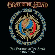 GRATEFUL DEAD - 30 TRIPS AROUND THE SUN-THE DEFINITIVE LIVE STORY 4 CD NEW