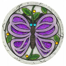 Purple Butterfly Cement Garden Stepping Stone