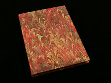 Hand Crafted Diarpell Florence Italy Italian Marble Paper Lined Wine Journal
