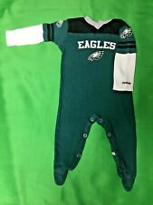 B229 NFL Philadelphia Eagles Reebok Long-Sleeve Play Outfit 3-6 months