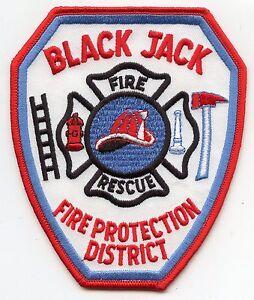 BLACK JACK casino gambling PROTECTION DISTRICT Florissant MISSOURI MO FIRE PATCH