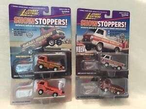 Johnny Lightning Show Stoppers, Lot of 4. Brand new in packaging