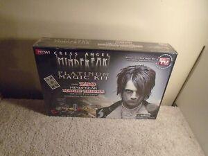 NEW IN SEALED BOX Criss Angel Mind Freak Platinum Magic Kit Set, Over 250 Tricks