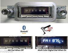 1958 Chevy Bluetooth Stereo Radio Impala  Bel Air Multi Color Display USA 740