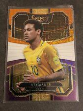 2017-18 Panini Select Prizm Multicolor Purple Orange 70 Neymar Jr. Brasil