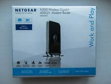 Netgear DGN3500 300 Mbps 4-Port 10/100 Wireless N Router (DGN3500100NAS)