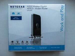 Netgear DGN3500 300 Mbps 4-Port 10/100 Wireless N Router (DGN3500100NAS)
