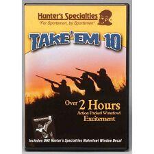 NEW  H.S. TAKE-EM DVD 10 DUCK GOOSE SHOOTING WILDFOWLING DECOYING CALL DVD