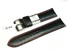 Premium quality Euro Alfa smooth genuine leather watch band fit Tissot Citizen