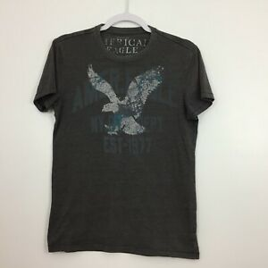 American Eagle Outfitters Top Size XS Vintage Single Stitch Taupe T-shirt RARE