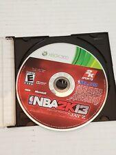 Xbox 360 NBA 2K13 Basketball Video Game Disc Generic Case Loose