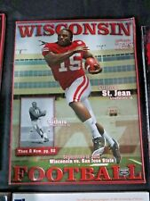 2010 UNIVERSITY OF WISCONSIN BADGERS VS SAN JOSE STATE FOOTBALL PROGRAM